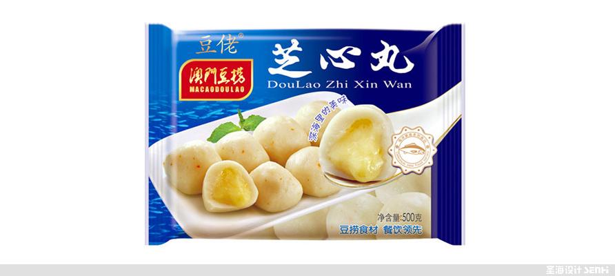 **豆捞,芝心丸,海鲜包装设计,杭州包装设计,品牌设计,浙江包装设计,食品海报设计,网站开发,农产品包装设计