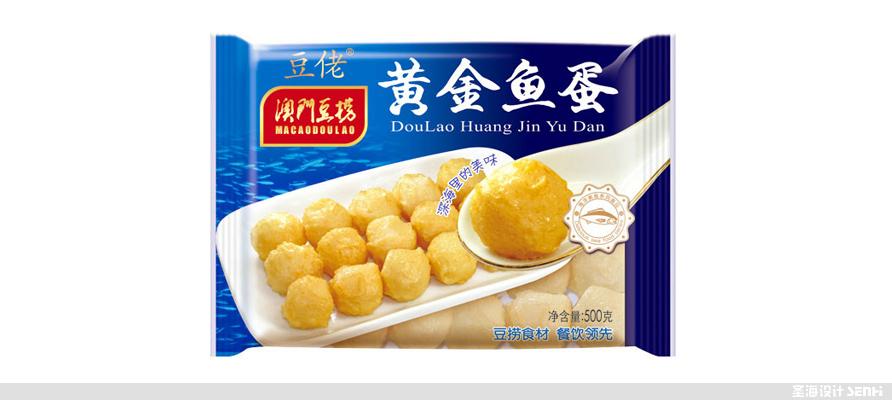 **豆捞,海鲜包装设计,杭州包装设计,黄金鱼蛋,品牌设计,浙江包装设计,食品海报设计,网站开发,农产品包装设计