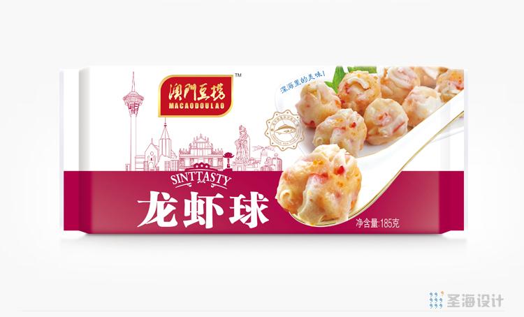 **豆捞,龙虾球,海鲜包装设计,杭州包装设计,品牌设计,浙江包装设计,食品海报设计,网站开发,农产品包装设计