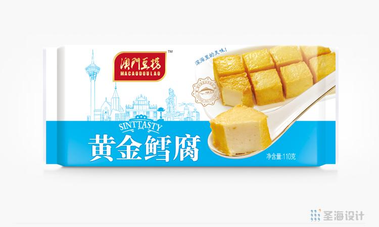 **豆捞,黄金鳕腐,海鲜包装设计,杭州包装设计,品牌设计,浙江包装设计,食品海报设计,网站开发,农产品包装设计