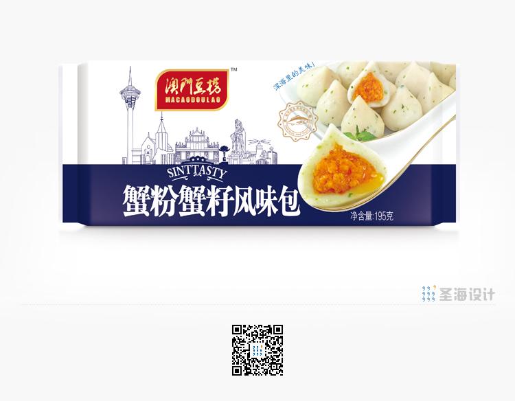 **豆捞,蟹粉蟹籽风味包,海鲜包装设计,杭州包装设计,品牌设计,浙江包装设计,食品海报设计,网站开发,农产品包装设计