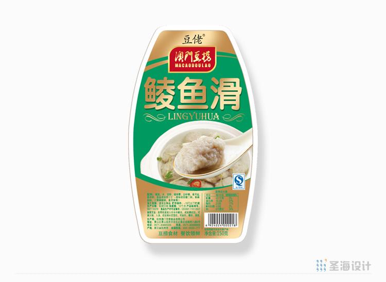 **豆捞肉滑系列/鲮鱼滑/杭州包装设计/圣海包装设计