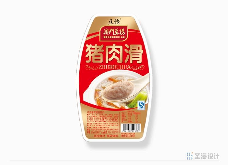 **豆捞肉滑系列/猪肉滑/杭州包装设计/圣海包装设计